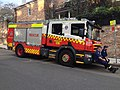 Crows Nest (036) NSWFR Scania P310 Class 4 pumper at Kirribilli.jpg
