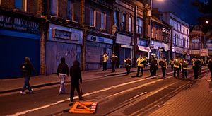 "String Theory (album) - ""London's Burning"" addresses the 2011 England riots."