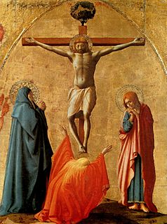 dismembered altarpiece by Masaccio, originally in the church of Santa Maria del Carmine, Pisa