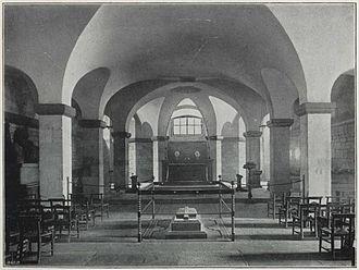 Henry Hart Milman - Milman's original tomb in St. Paul's Cathedral
