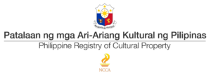 Philippine Registry of Cultural Property - Current logo for the Philippine Registry of Cultural Property