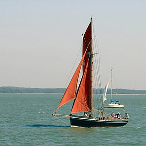 Cutter at Yarmouth Old Gaffers Festival 2009 4.jpg