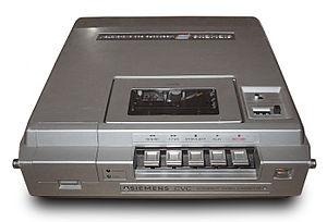 Compact Video Cassette - Siemens CVC Videocassette Recorder