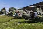 Czech Air Force helicopters, Czech Air Force Museum, Prague-Kbely Airbase (28563050744).jpg