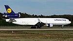 D-ALCM Lufthansa Cargo MD11 FRA (32746390207).jpg
