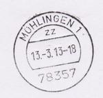 D-BW-KN-Mühlingen - Stempel Mühlingen 1 2013-03-13.png
