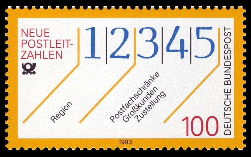 File:DBP 1993 1659 Neue Postleitzahlen.jpg