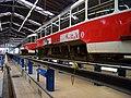 DOD vozovna Strašnice, tramvaj 8337 na kontrolní prohlídce (01).jpg