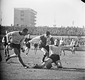 DOS tegen Feyenoord, Mijnals, Coen Moulijn , Van Plateringen, Bestanddeelnr 916-1484.jpg