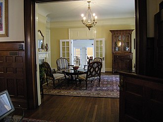 Alfred Horatio Belo House - Living-room inside the house.