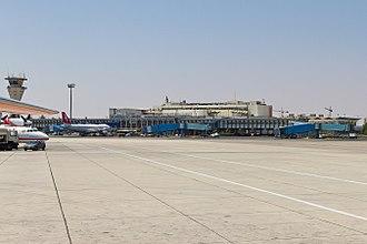 Damascus International Airport - Image: Damascus International (DAM OSDI) AN2190526