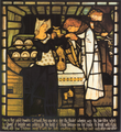 Dante Gabriel Rossetti Sir Tristram and la Belle Ysoude stained glass.png