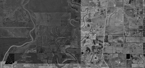 Darrington Unit - Aerial photograph, U.S. Geological Survey - January 25, 1995