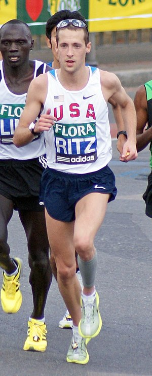 Dathan Ritzenhein - Ritzenhein at the 2009 London Marathon