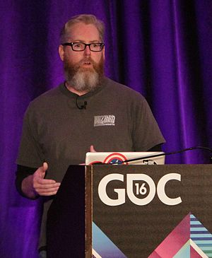 David Brevik - Brevik at GDC 2016