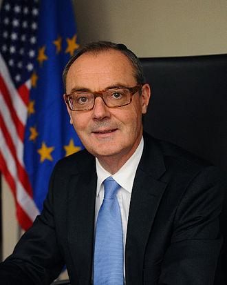David O'Sullivan (civil servant) - Image: David O'Sullivan, European Union Ambassador to the United States