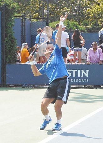 Nikolay Davydenko - Davydenko at the 2013 US Open