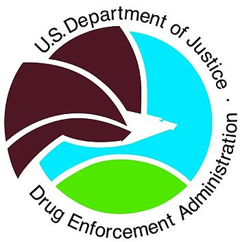 English: Drug Enforcement Administration logo