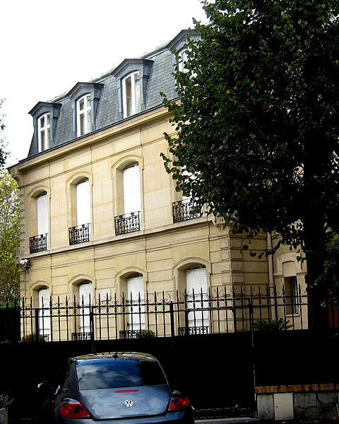 File:Debussy's house, Sq. de l'av. Foch.jpg