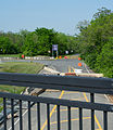 Decommissioned I-695 northern terminus - northbound Sousa Bridge - Washington DC.jpg