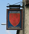 Defaced pub sign - geograph.org.uk - 900909.jpg