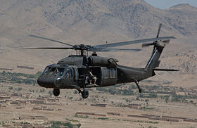 un elicottero UH-60 Black Hawk