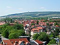 Der Ettersberg - Blick vom Jakobskirchturm in Weimar.jpg
