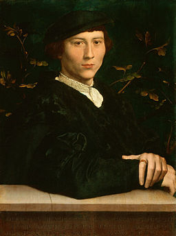 Derich Born by Hans Holbein the Younger