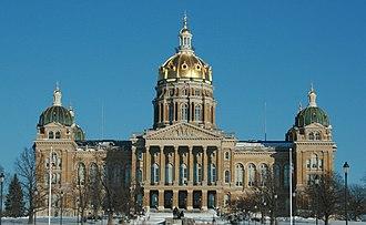 John C. Cochrane - Iowa State Capitol
