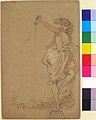 Design for a Menu- Girl Pouring from a Bottle MET 67.711.5.jpg