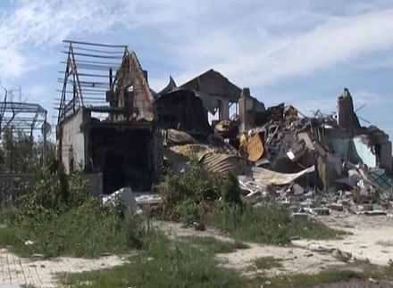 Destroyed house in Donbass, July 2014 Destroyed house in Donbass.jpg