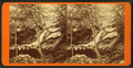 Devil's Den and Falls, Purgatory, Mount Vernon, N.H, by Bugbee, F. E. (Freeman E.), 1846-1899.png