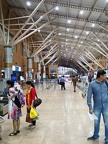 Dibrugarh Airport interior.jpg