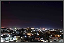 Night view of Dibrugarh