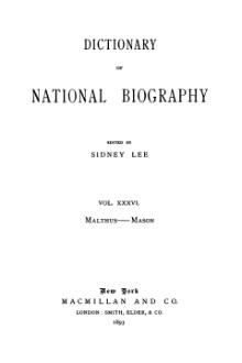 Dictionary of National Biography volume 36.djvu