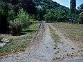 Die alten Gleise der stillgelegten Jagsttalbahn, Spurweite 750 mm - panoramio.jpg