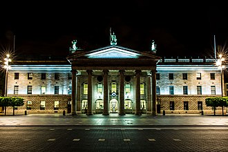 Postal addresses in the Republic of Ireland - General Post Office, Dublin Eircode: D01 F5P2