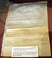 Diplomatico riformagioni, patto tra parte ghibellina di firenze e siena, citato farinata degli uberti, 22 giugno 1251.jpg