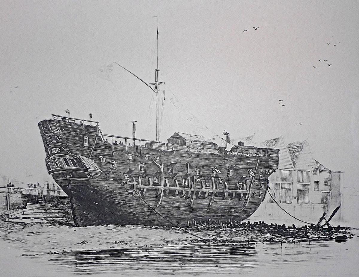 Image result for Prison ship
