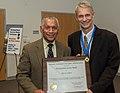Distinguished Service Award ceremony for Dr. Piers Sellers. NASA Administrator Charlie Bolden (27904575781).jpg
