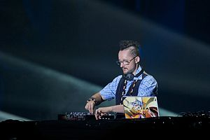 DJ Vadim - DJ Vadim performing live in 2012.