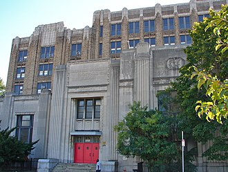 Murrell Dobbins Vocational School - Image: Dobbins School Philly