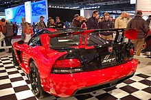 The Dodge Viper Acr Upset The Field In  With A Time Of