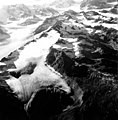 Dogs Head and Capps Glaciers, terminus of mountain glacier in the foreground, firn line, valley glacier in the background, and (GLACIERS 6472).jpg
