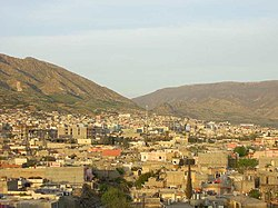 Skyline of Dohuk.