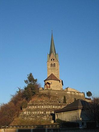 Domat/Ems - Baselgia S. Gion Baptista/Church of St. John the Baptist
