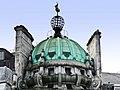 Dome, globe and verdigris - Trafalgar Square (geograph 2640800).jpg