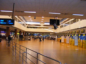Don Mueang Airport - Domestic terminal Check-in area.JPG