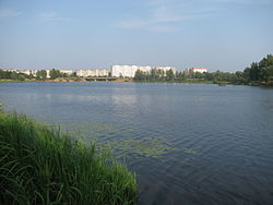 Donkhovka river near the Volga. Konakovo city..jpg