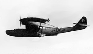 Dornier Do 18 - The record-setting Do 18 D-ANHR in 1938.